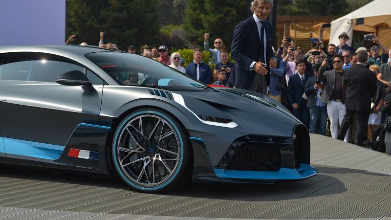 Bugatti Yeni Hiper Otomobili Divo'yu Tanıttı
