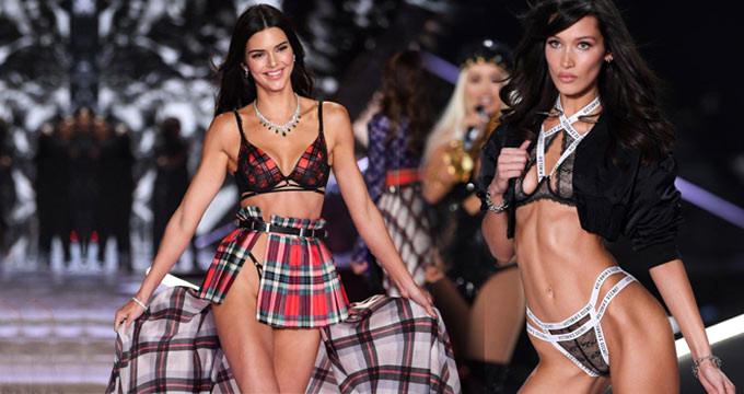 Dünyanın En Ateşli Defilesi Victoria Secret'tan Kareler