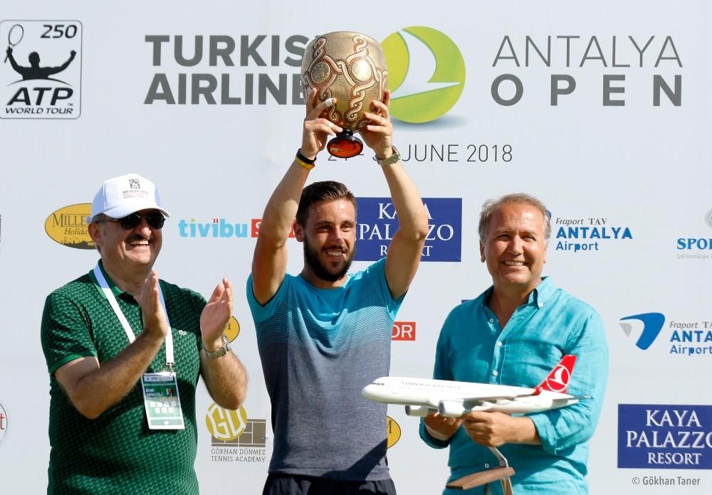 Damir Dzumhur, Turkish Airlines Antalya Open'da şampiyon