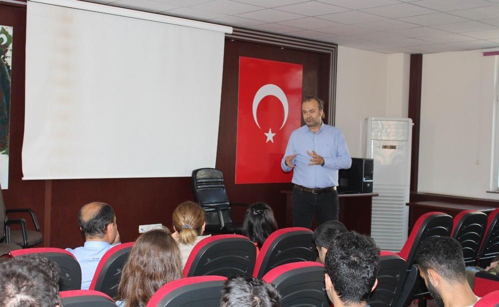 Başkan Çokay'dan, genç meslektaşlarına seminer