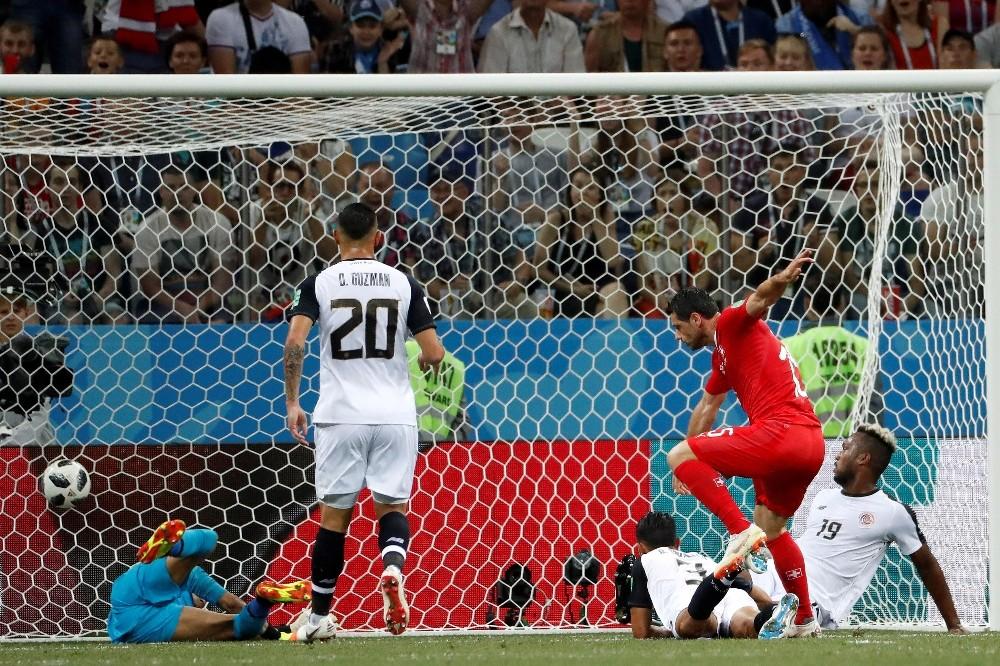 2018 FIFA Dünya Kupası: İsviçre: 2 - Kosta Rika: 2