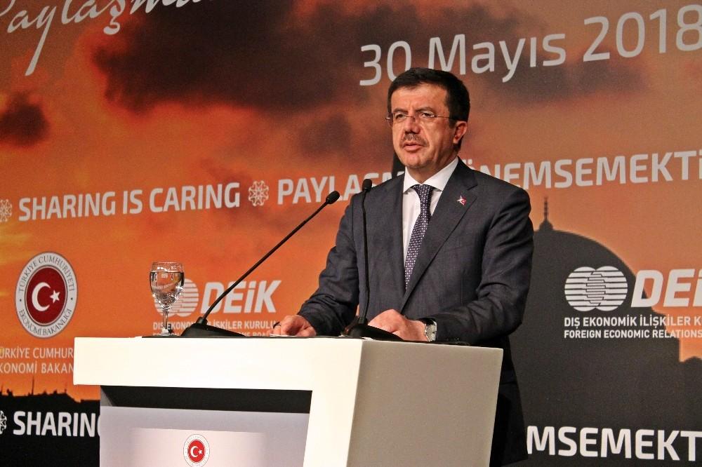 """Bakan Zeybekci: """"2018'in ilk çeyreğinde yüzde 7,5 civarında bir büyüme rakamı gelecek"""""""