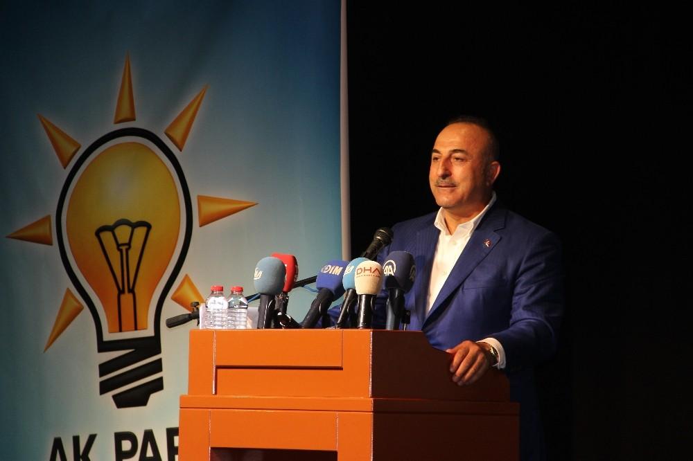 """Dışişleri Bakanı Çavuşoğlu: """"Doğru ile yanlışı çok iyi ayırt edelim"""""""