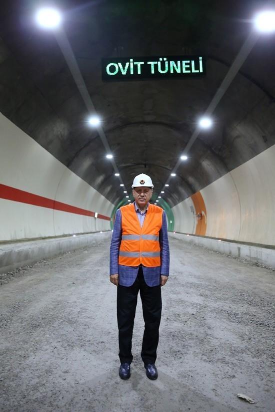 Yarın Ovit Tüneli'nin açılışını yapacak