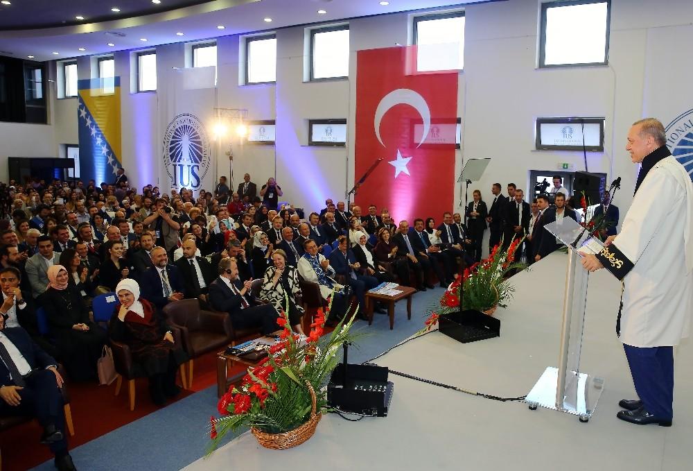 """Cumhurbaşkanı Erdoğan: """"Kudüs'ün İsrail tarafından işgal edilmesine fırsat vermeyeceğimiz"""""""