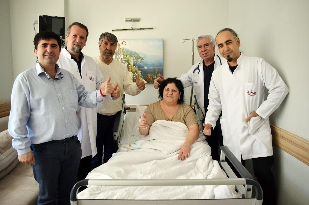 Obezite ameliyatı için Almanya'dan Gaziantep'e geldi