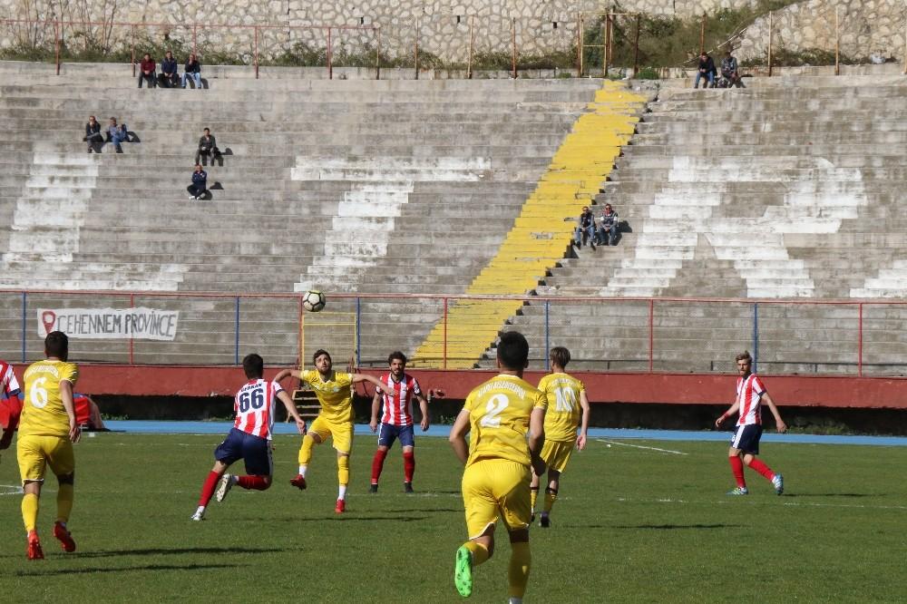 Devrek Belediyespor, Alaplı Belediyespor'u penaltılarda yendi
