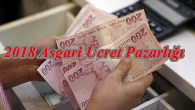 2018 için Asgari Ücret Pazarlığı...