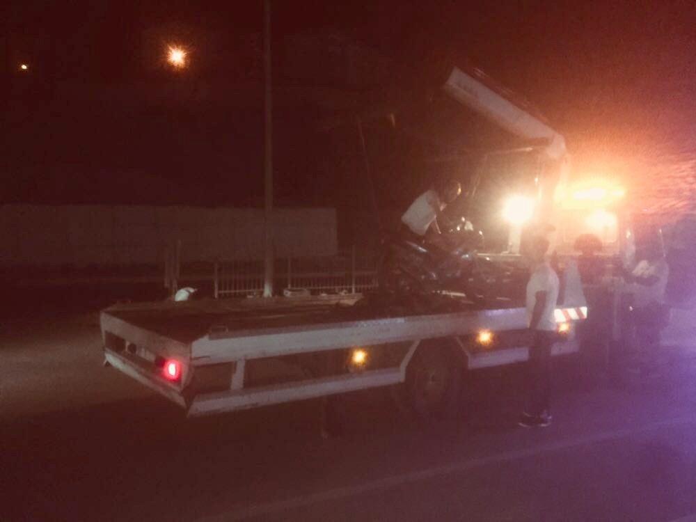 Kuşadası'nda motosiklet kazası; 2 yaralı