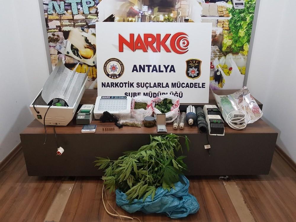 Antalya'da iki ayrı uyuşturucu operasyonunda 'i Belçika uyruklu 8 kişi gözaltın alındı
