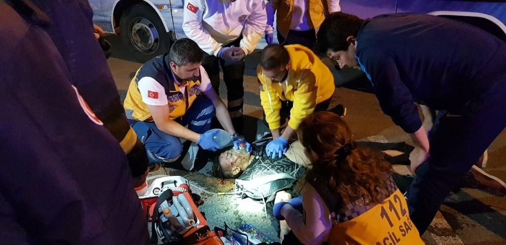 Manavgat'ta motosiklet kazası: 1 ölü, 1 yaralı
