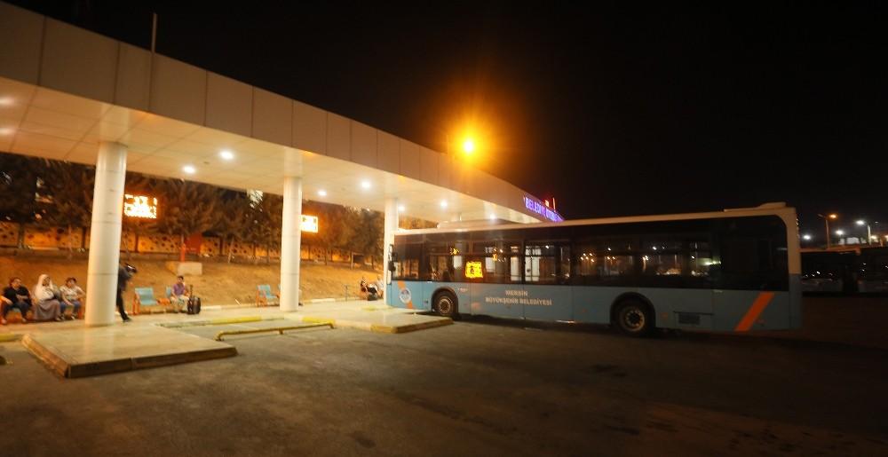 Büyükşehir otobüsleri gece de sefer yapıyor