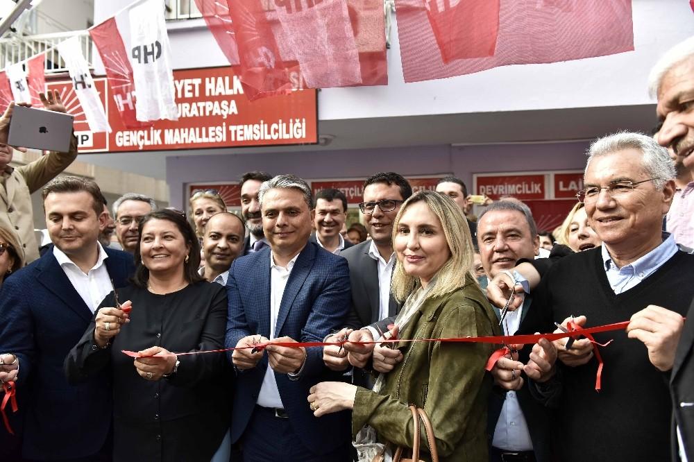 Başkan Uysal, partisinin mahalle temsilciliği açılışına katıldı