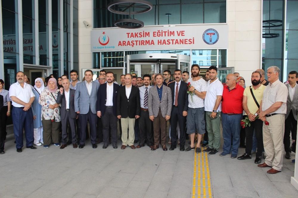 Taksim Eğitim ve Araştırma Hastanesi tüm fonksiyonlarıyla hizmete başladı