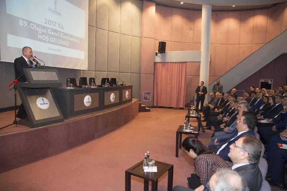 Başkan Çelik, KCETAŞ'ın genel kuruluna katıldı