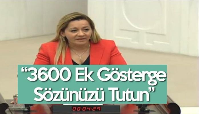 3600 Ek Gösterge Sözünüzü Tutun!