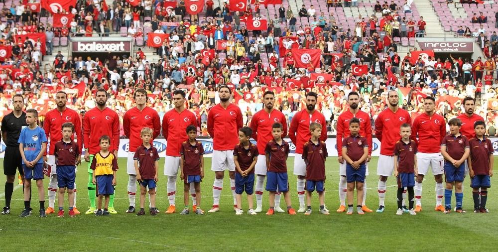 Hazırlık maçı: Türkiye: 2 - Tunus: 2