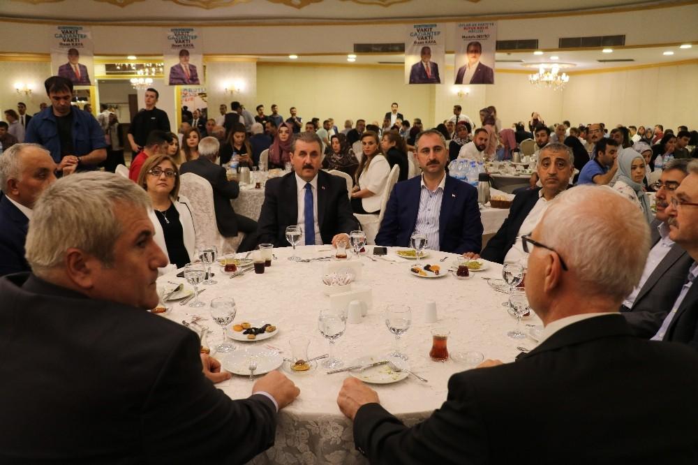AK Partililer ve BBP'liler iftarda bir araya geldi