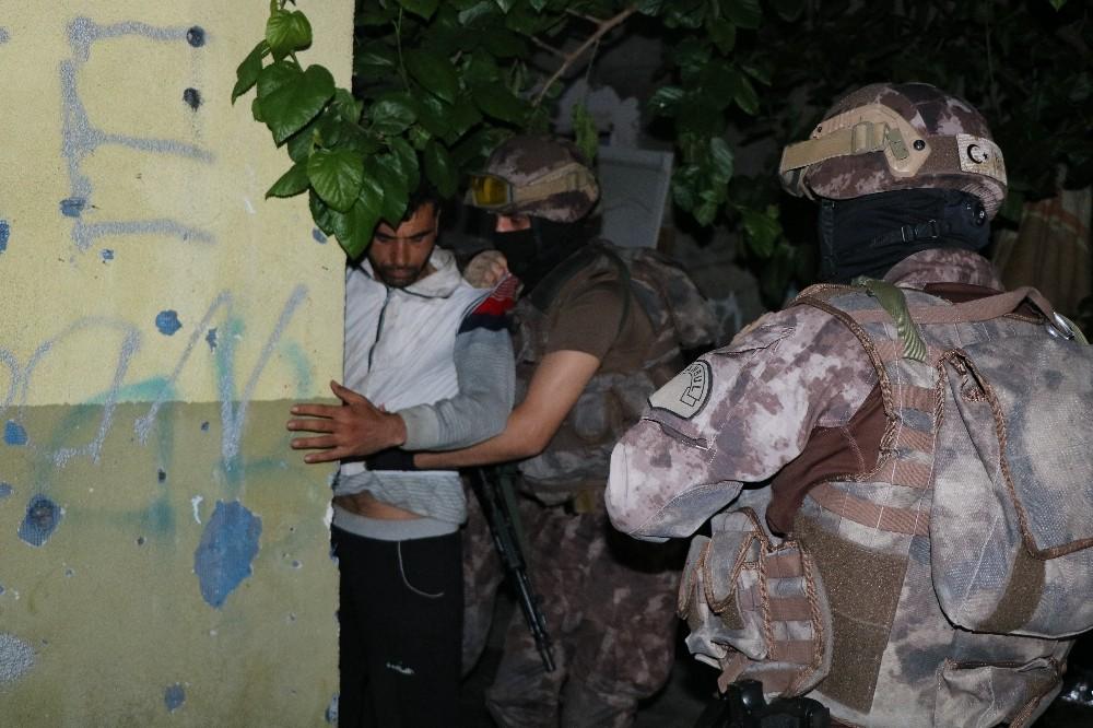 İstanbul'da havadan destekli narkotik operasyonu
