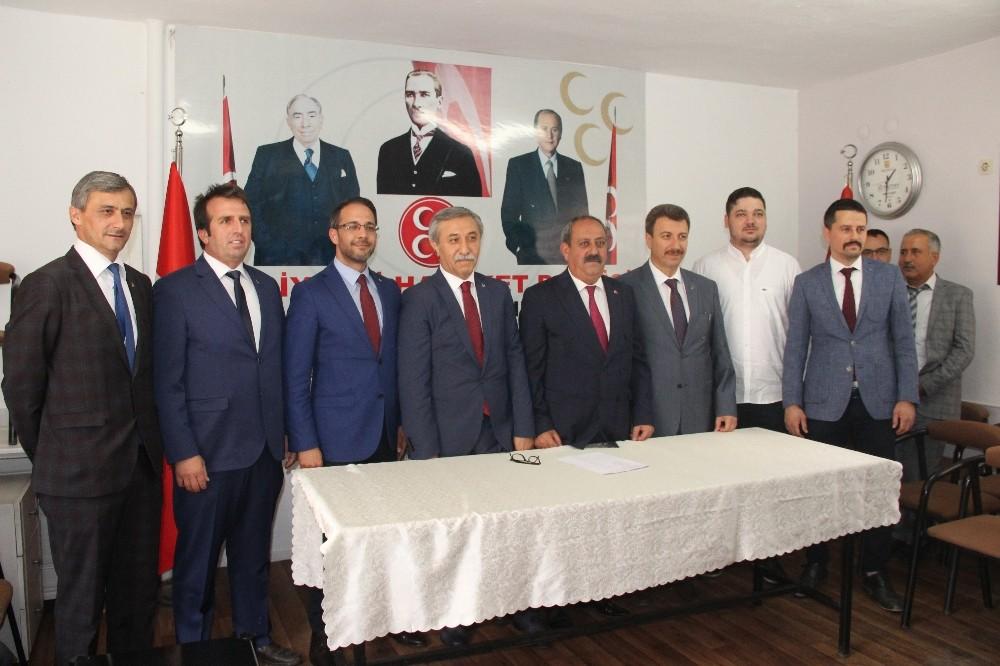 MHP Muğla milletvekili adaylarını tanıttı