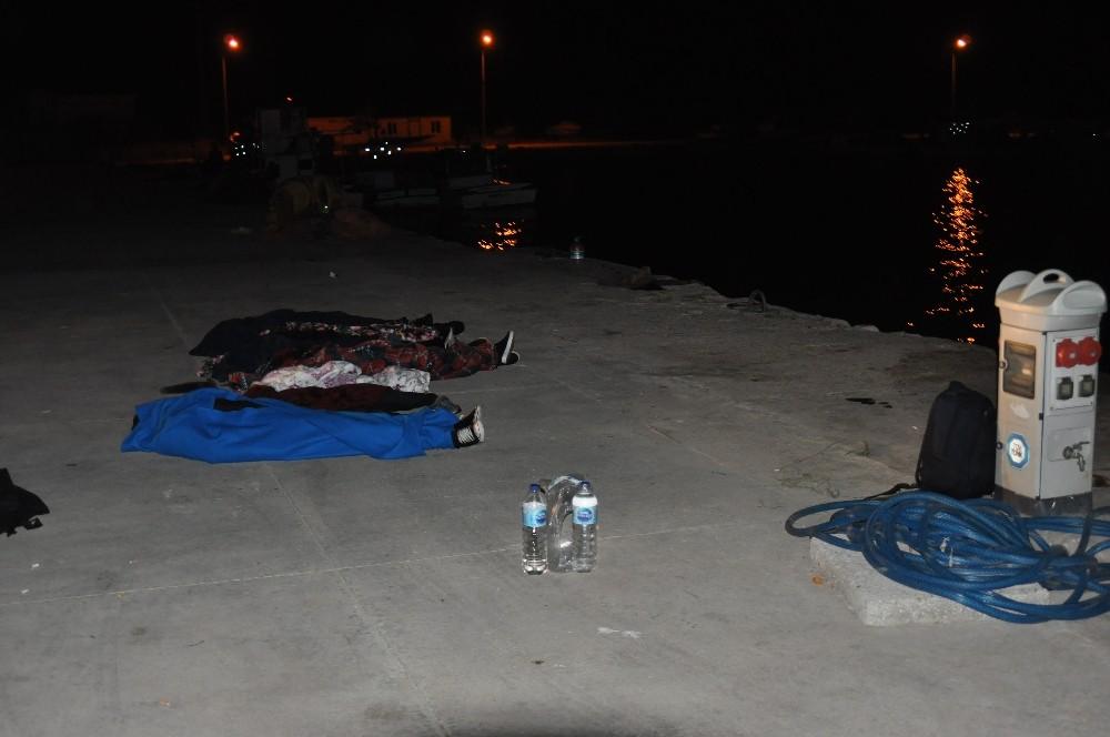 Çanakkale'de kaçak göçmenleri taşıyan tekne battı: 7 ölü