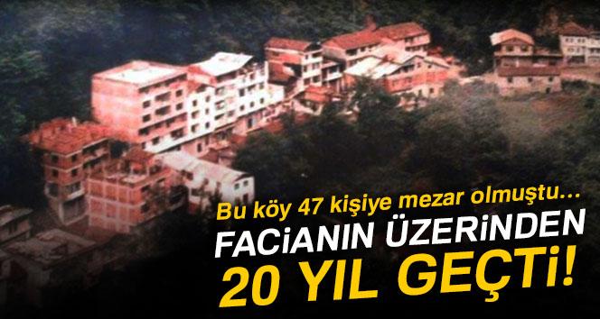 47 kişiye mezar olan Beşköy'de facianın üzerinden 20 yıl geçti