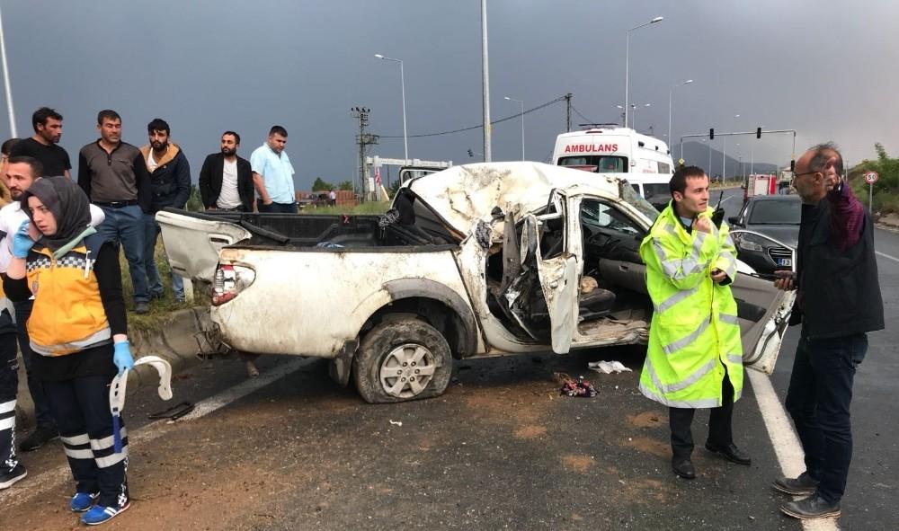 Tatvan'da trafik kazası: 3 ölü 4 yaralı