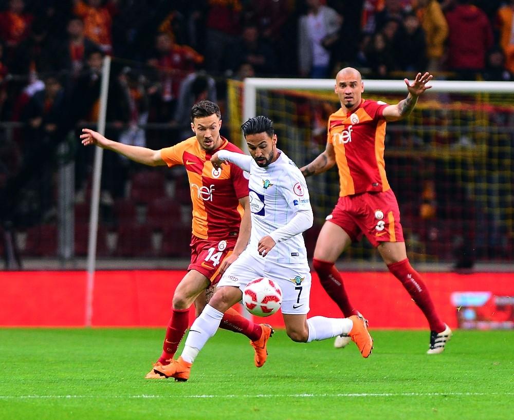 T.M. Akhisarspor ile Galatasaray 12. randevuda
