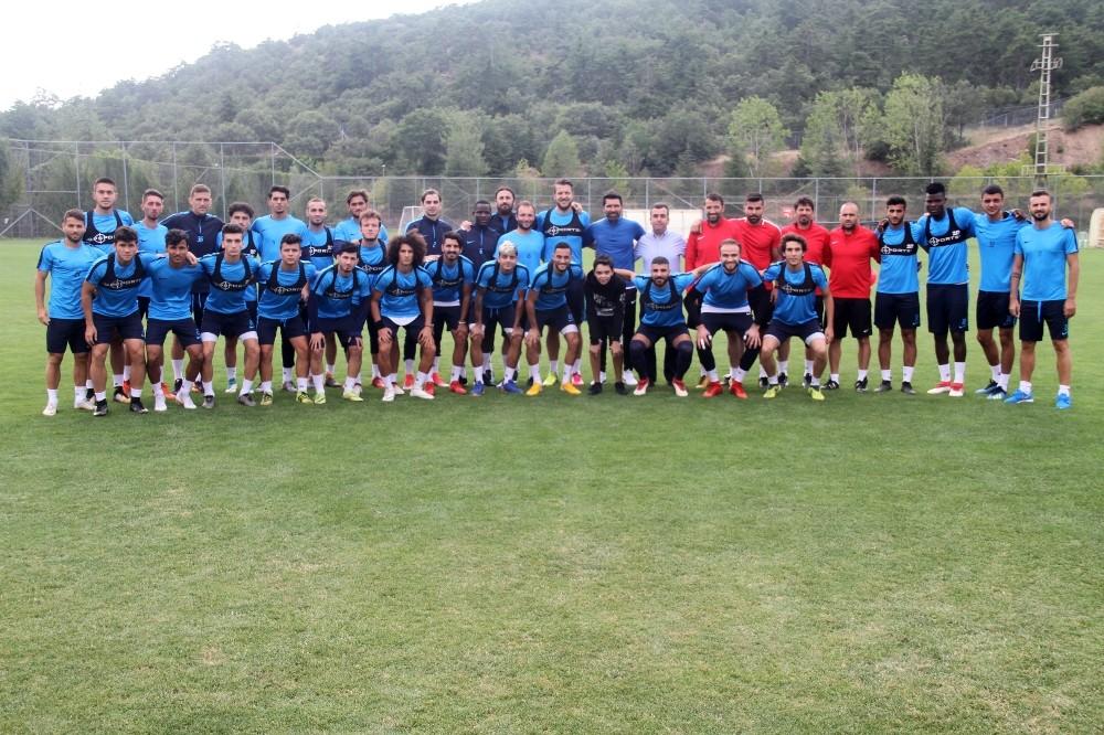 Adana Demirspor'un yeni oyuncuları kampa dahil oldu