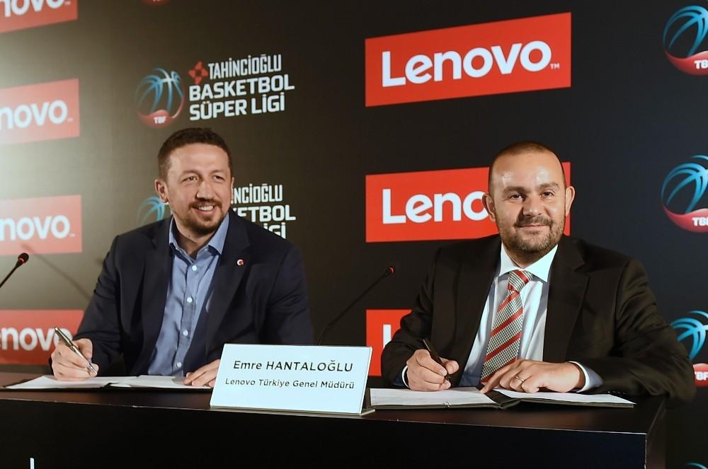 Lenovo, Tahincioğlu Basketbol Süper Ligi'nin yeni ana sponsoru