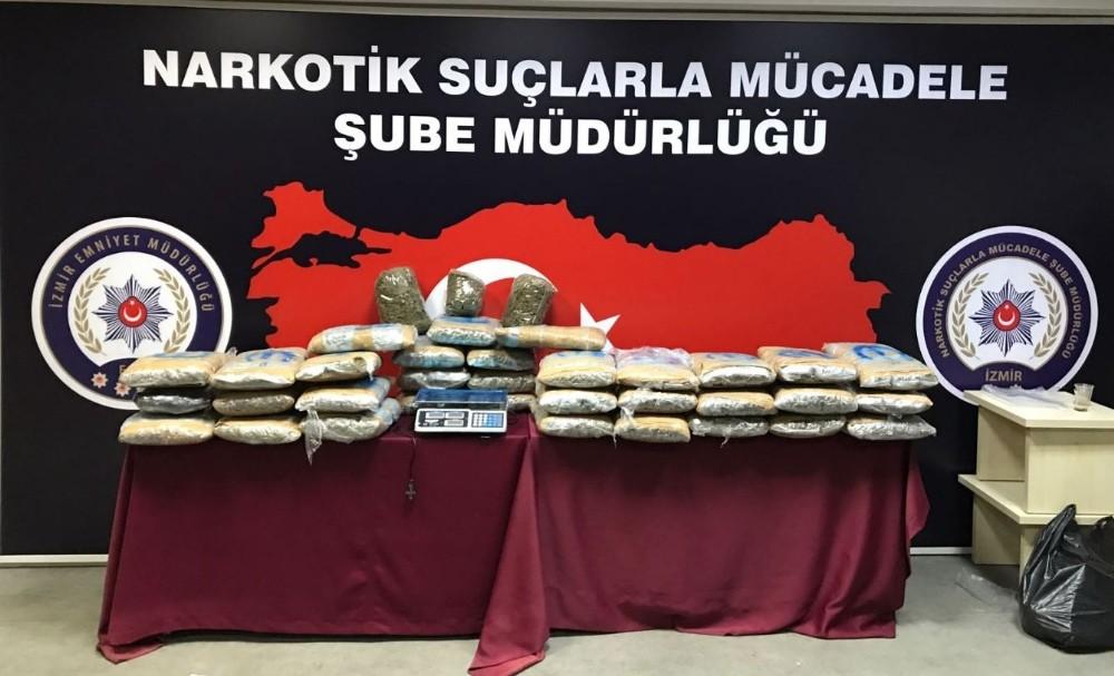 İzmir merkezli 7 ilde uyuşturucu operasyonu