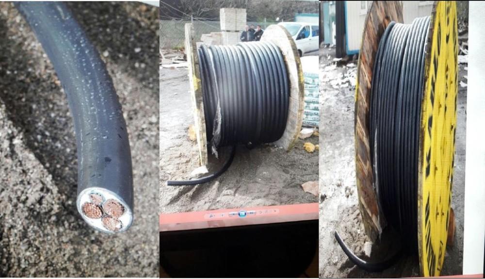 Ankara başta olmak üzere 4 ilde ″Kirpi″ operasyonu...  500 bin TL değerinde kablo çalan çete çökertildi