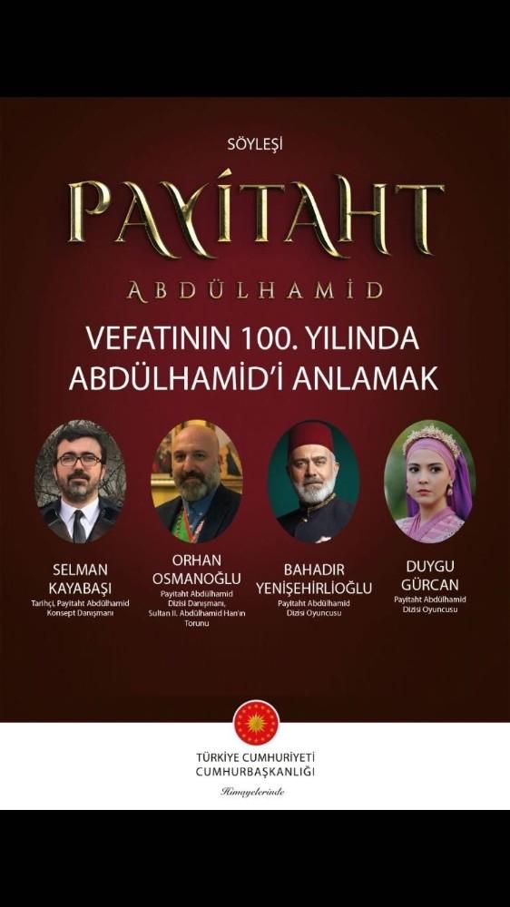 """""""Payitaht Abdulhamid"""" dizisinin oyuncuları Şanlıurfa'ya geliyor"""