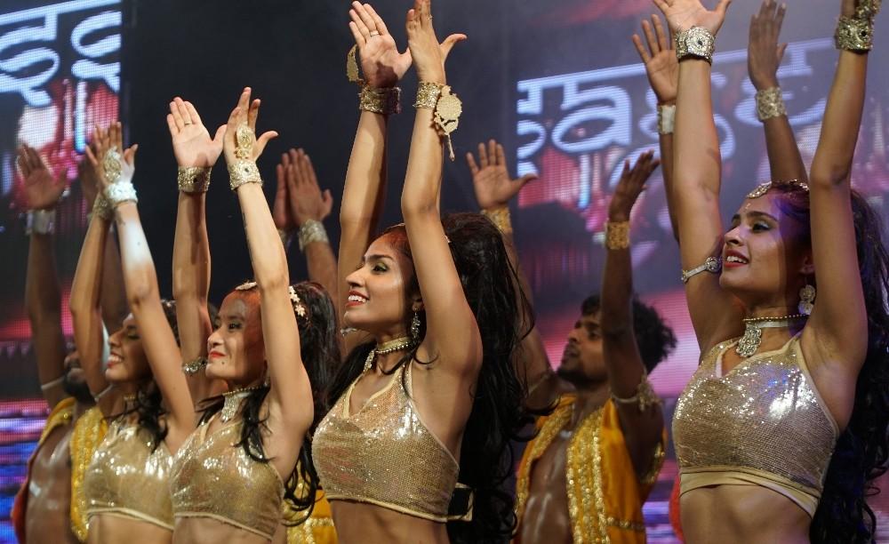Bursa Festivali'nde  'Passage To Bollywood' Rüzgarı'
