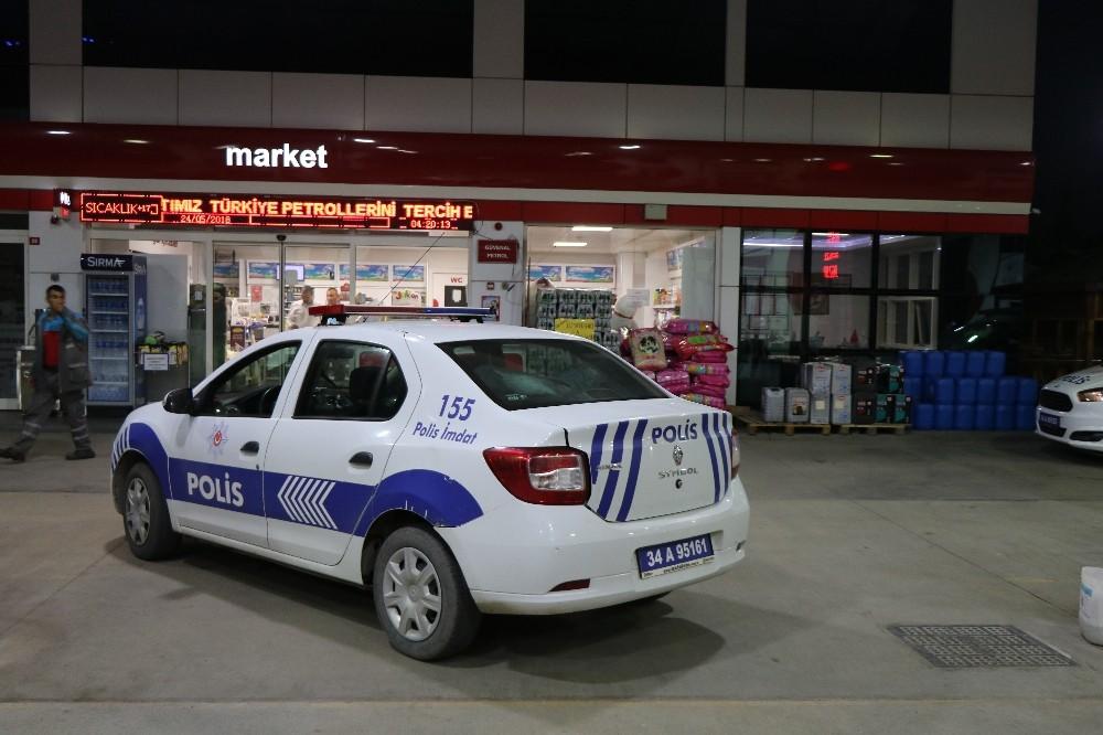 Tuzla'da akaryakıt istasyonuna silahlı soygun