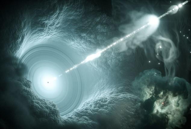 Bilim insanları: ″Hayali nötrino atom altı parçacığının kaynağı Dünya'ya 4 milyar ışık yılı uzaktaki bir galaksi″