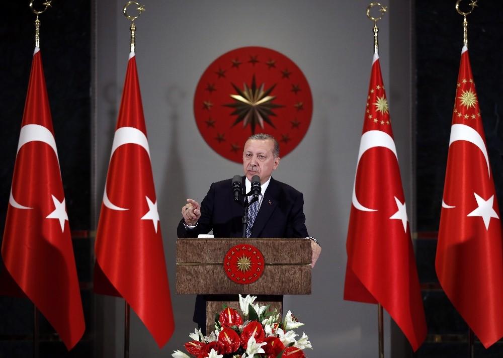 Başkan Doğan, külliyede Cumhurbaşkanın konuğu oldu