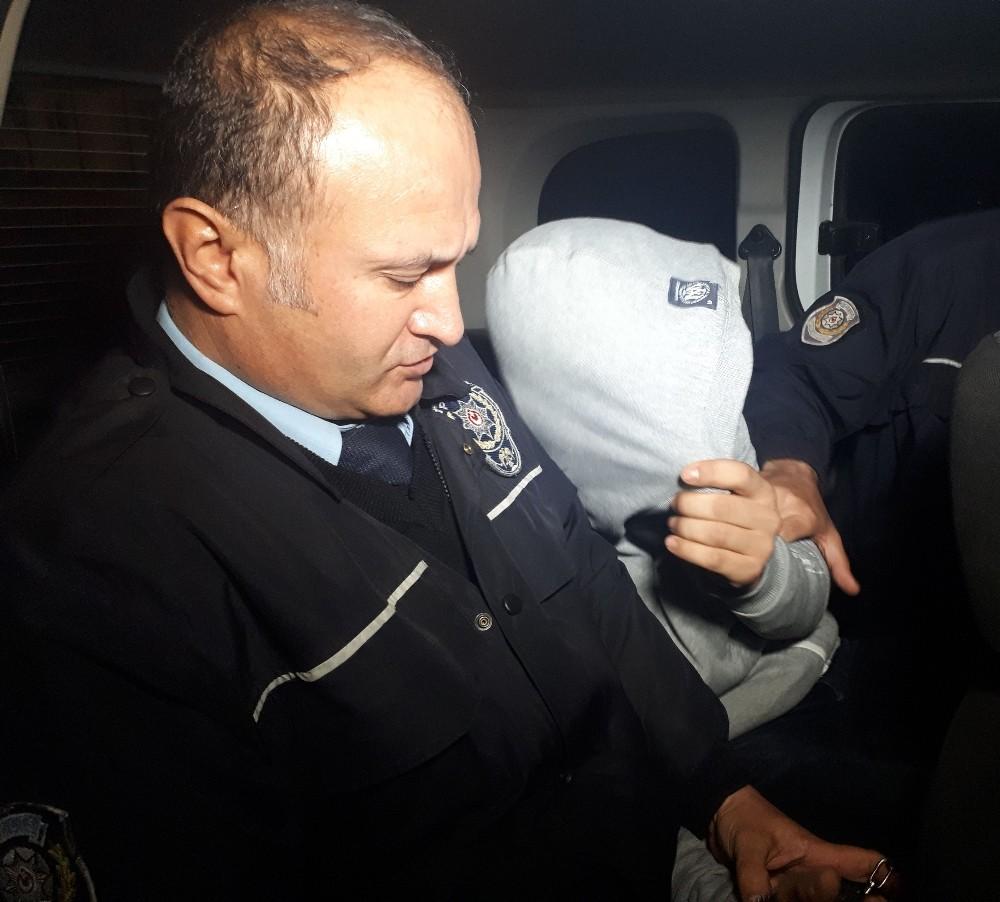 Hırsızlık şüphelisi şahıs polisten kaçamadı