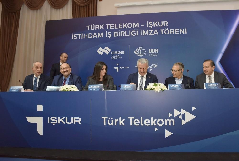 Türk Telekom ile İŞKUR'dan işbirliği