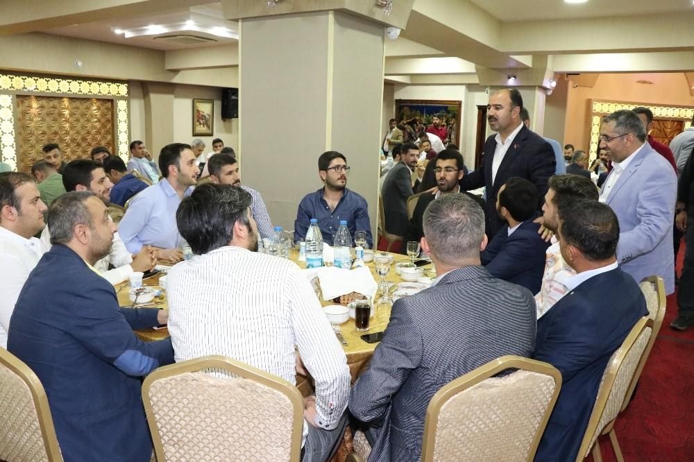 Bakan Fakıbaba ve Başkan Çiftçi avukatlarla bir araya geldi