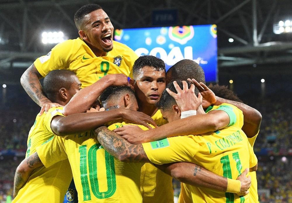 2018 FIFA Dünya Kupası: Sırbistan: 0 - Brezilya: 2
