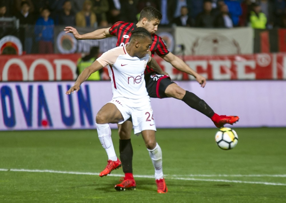 Spor Toto Süper Lig: Gençlerbirliği: 1 - Galatasaray: 0 (Maç sonucu)