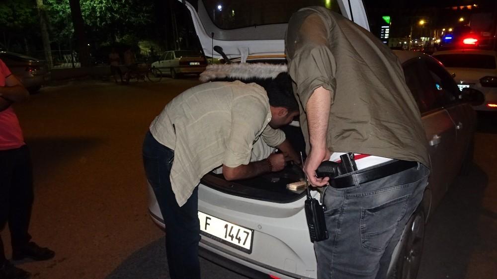 Ceylanpınar Polis'inden Asayiş Uygulaması