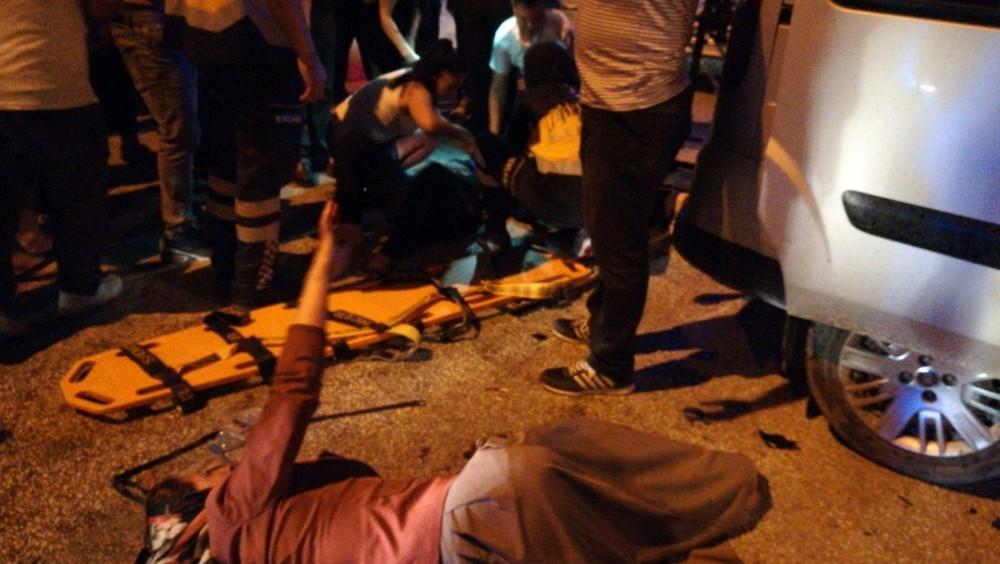 Hatay'da trafik kazası 2 yaralı