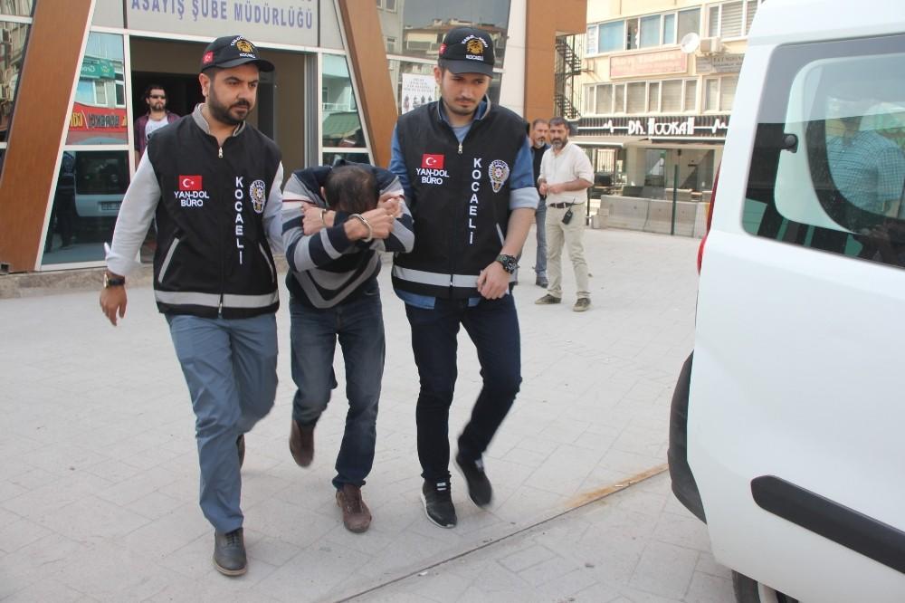 58 bin TL'lik sunta çalan sahte nakliyeci tutuklandı