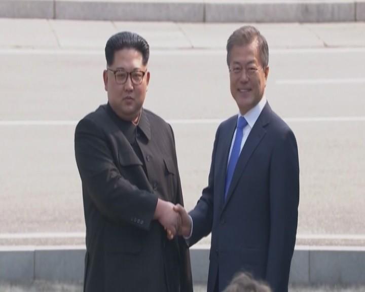 Kim Jong-un Güney Kore'de