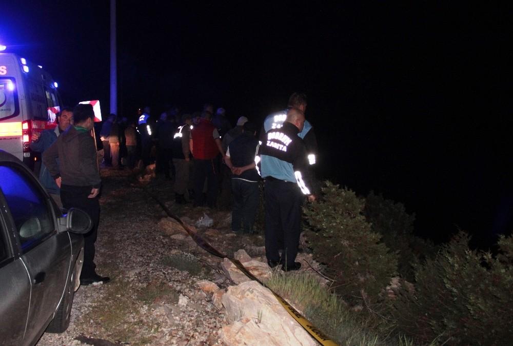 Aracıyla denize uçan Bodrum Belediye Başkan Yardımcısı hayatını kaybetti