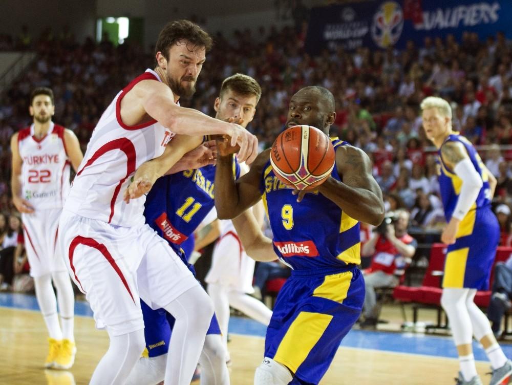 2019 FIBA Basketbol Dünya Kupası Elemeleri: Türkiye: 77 - İsveç: 52