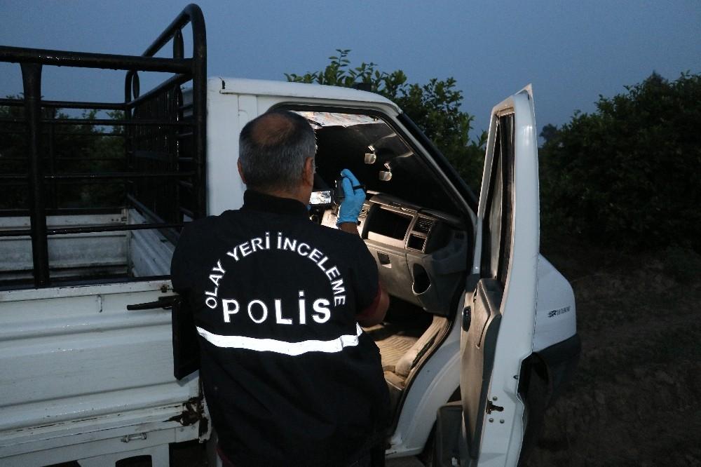 Polislerin kaza yapmasına neden olan hırsızlardan bir yakalandı