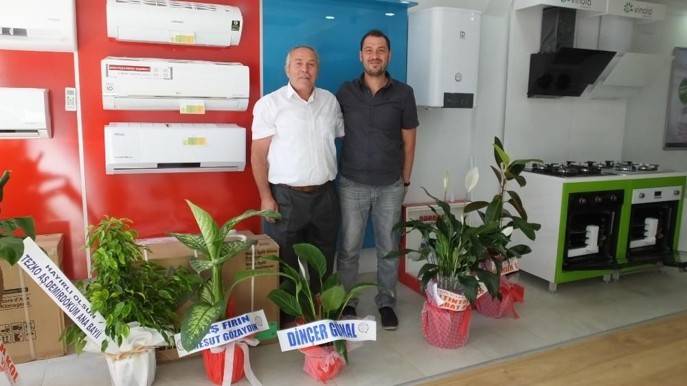 Burhaniye'de doğalgaz heyecanı
